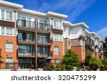 modern apartment building in... | Shutterstock . vector #320475299