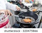 Japanese Fried Pork Making In...
