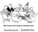 Business Cartoon Of A Meeting ...