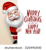 3d Realistic Santa Claus...