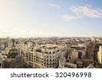 The Skyline Of Madrid  Spain ...