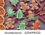 Christmas Gingerbread Cookies...