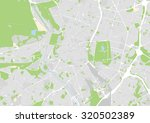 vector map of the city of madrid | Shutterstock .eps vector #320502389