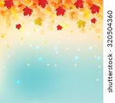 abstract vector autumn...   Shutterstock .eps vector #320504360