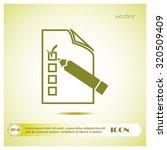 document icon | Shutterstock .eps vector #320509409