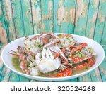 malaysian dish clear crab soup... | Shutterstock . vector #320524268