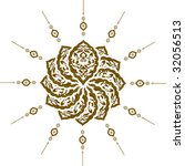 traditional ottoman clean... | Shutterstock . vector #32056513