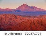 catarpe  licancabur volcano ... | Shutterstock . vector #320571779