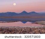 tebenqueche lagoon  licancabur...   Shutterstock . vector #320571833