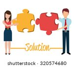 business solutions graphic... | Shutterstock .eps vector #320574680