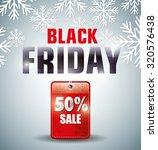 shopping black friday day... | Shutterstock .eps vector #320576438