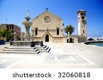 Old Market Of Rhodes With...
