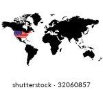 raster image of vector  usa... | Shutterstock . vector #32060857