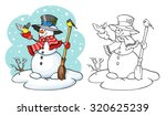 coloring book or page ...   Shutterstock .eps vector #320625239