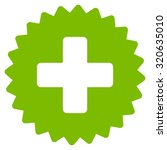 health care stamp vector icon.... | Shutterstock .eps vector #320635010