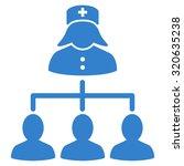 nurse patients connections... | Shutterstock .eps vector #320635238