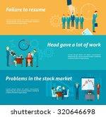 stress at work horizontal... | Shutterstock . vector #320646698