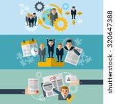human resources personnel... | Shutterstock . vector #320647388