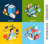 medical design concept set with ... | Shutterstock . vector #320656043