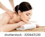 young and healthy woman in spa... | Shutterstock . vector #320665130