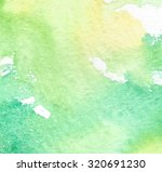 yellow green white watercolor...