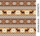 nordic traditional pattern | Shutterstock .eps vector #320694074