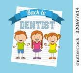 children dental care design ... | Shutterstock .eps vector #320697614