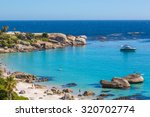 beautiful day in camps bay in... | Shutterstock . vector #320702774