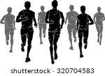 marathon male runners