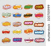 big collection colorful speech... | Shutterstock .eps vector #320705999