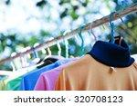 Dry Cloths And T Shirt  Hang O...