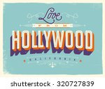 vintage style touristic... | Shutterstock .eps vector #320727839