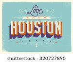 vintage style touristic... | Shutterstock .eps vector #320727890