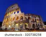 rome  italy   july 17   the... | Shutterstock . vector #320738258