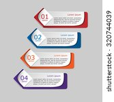 vector illustration infographic ... | Shutterstock .eps vector #320744039