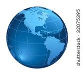 earth | Shutterstock .eps vector #32075395