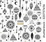 vector ethnic pattern | Shutterstock .eps vector #320757656