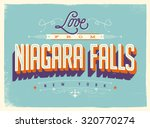 vintage style touristic... | Shutterstock .eps vector #320770274