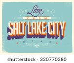 vintage style touristic... | Shutterstock .eps vector #320770280