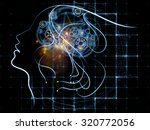 human tangents series. abstract ...   Shutterstock . vector #320772056
