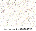 background with  streamer and... | Shutterstock .eps vector #320784710