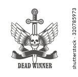 vector vintage emblem of a...   Shutterstock .eps vector #320785973