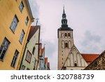 wonderful street view of old... | Shutterstock . vector #320788739