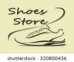 vector illustration of sport... | Shutterstock .eps vector #320800436