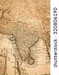 world map of antique | Shutterstock . vector #320806190