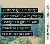 inspirational typographic quote ... | Shutterstock . vector #320808428