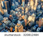 the urban landscape of new york ... | Shutterstock . vector #320812484