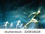 sports technology and medical... | Shutterstock . vector #320818628