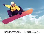snowboarding.   Shutterstock . vector #320830673