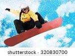 snowboarding. | Shutterstock . vector #320830700